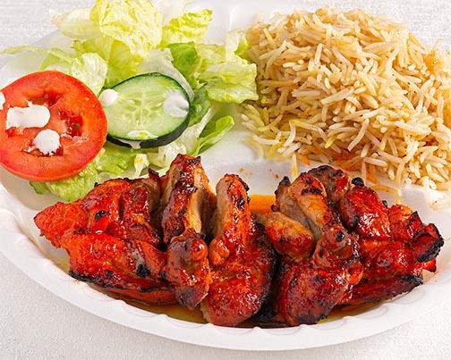 4 - Bone-In Chicken Kabob